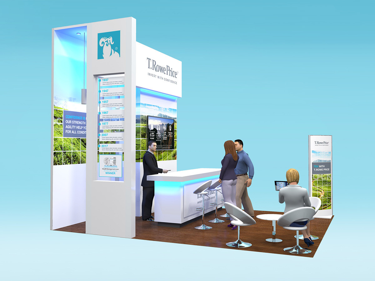 Custom Exhibition Stand Design T Rowe Price