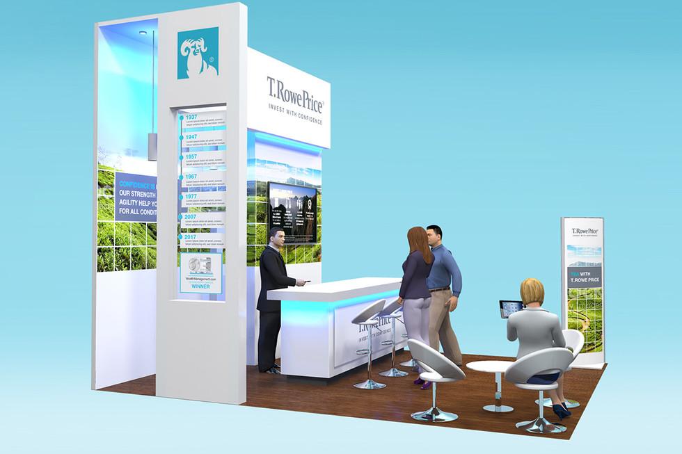 Custom Exhibition Stand Design T Rowe Price