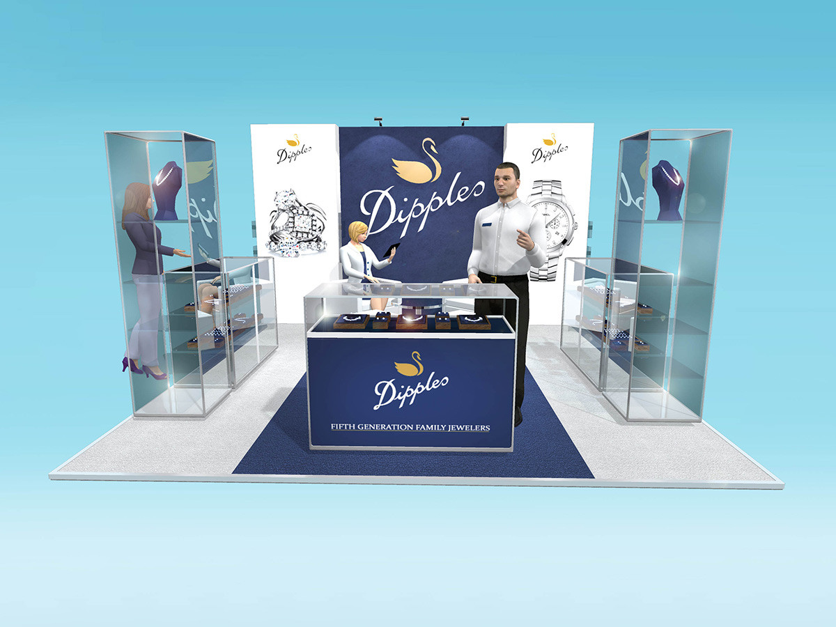 Custom Exhibition Stand Design Dipples