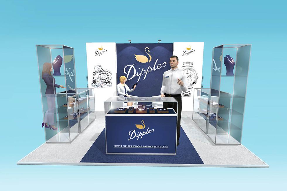 Custom Exhibition Stand Design Dipples