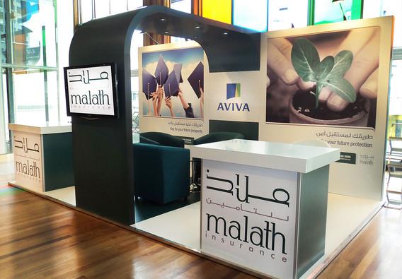 Exhibition Stand Design and Build Malath 2013