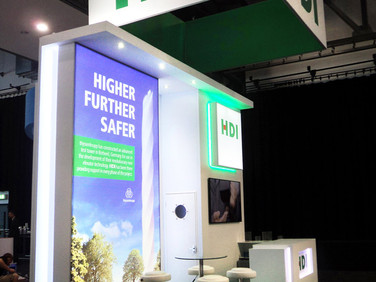 Custom Exhibition Stand - HDI at Airmic 2018