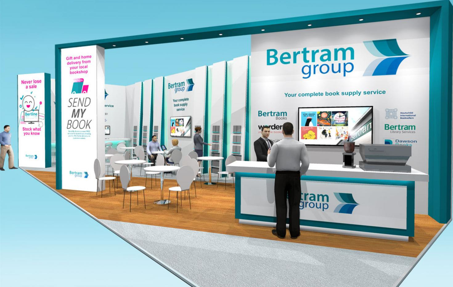 Exhibition Stand Design Concept Bertram Group LBF19