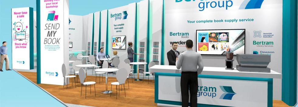 Exhibition Stand Design Concept Bertram Group LBF19