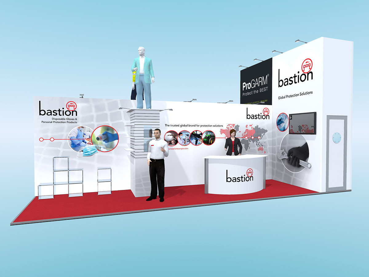 Exhibition Stand Design Concept
