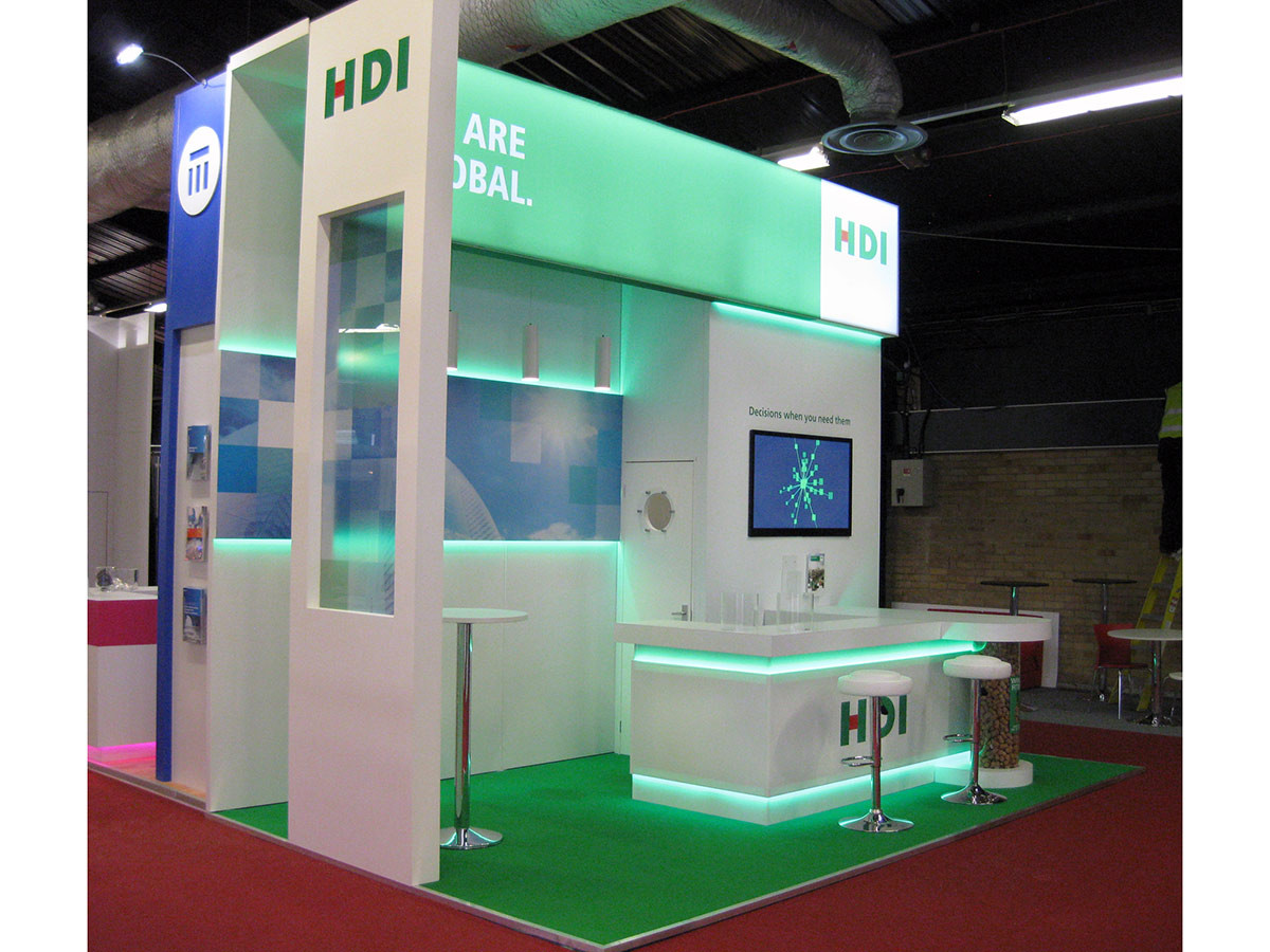 HDI Custom Exhibition Stand Airmic 2016