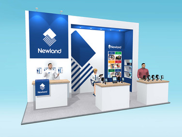 Newland Exhibition Stand Design Concept