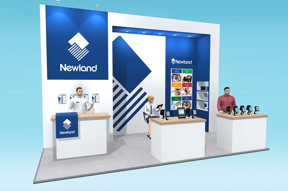 Custom Exhibition Stand Design Concept Newland