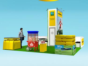 Barenbrug Exhibition Stand Design Concept for SALTEX