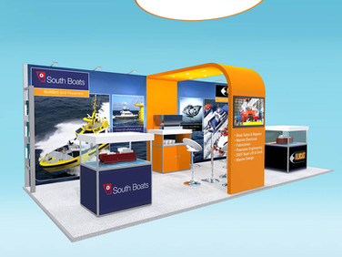 Alicat Workboats Exhibition Stand Design Concept