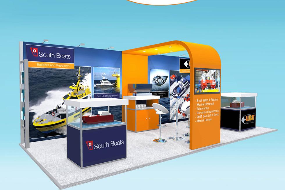 Exhibition Stand Design Concept Alicat