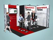 Insurance Times Modular Exhibition Stand Design Concept