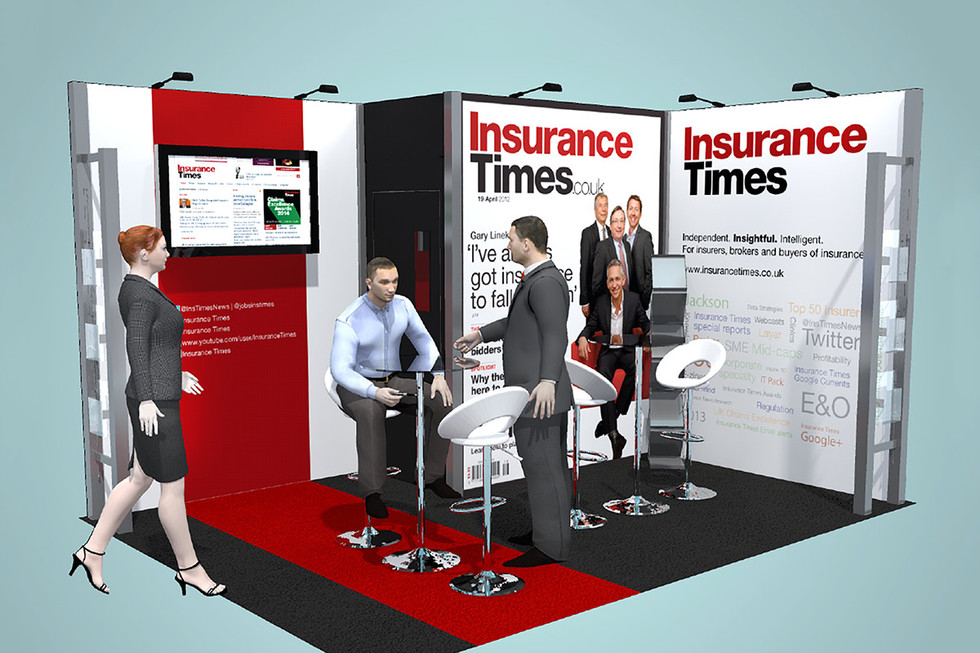 Modular Exhibition Stand Design - Insurance Times