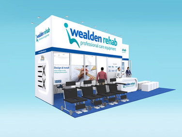 Wealden Rehab Exhibition Stand Design Concept