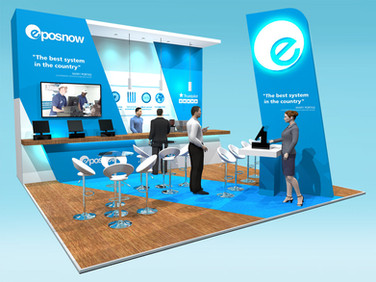 Epos Now Exhibition Stand Design Concept