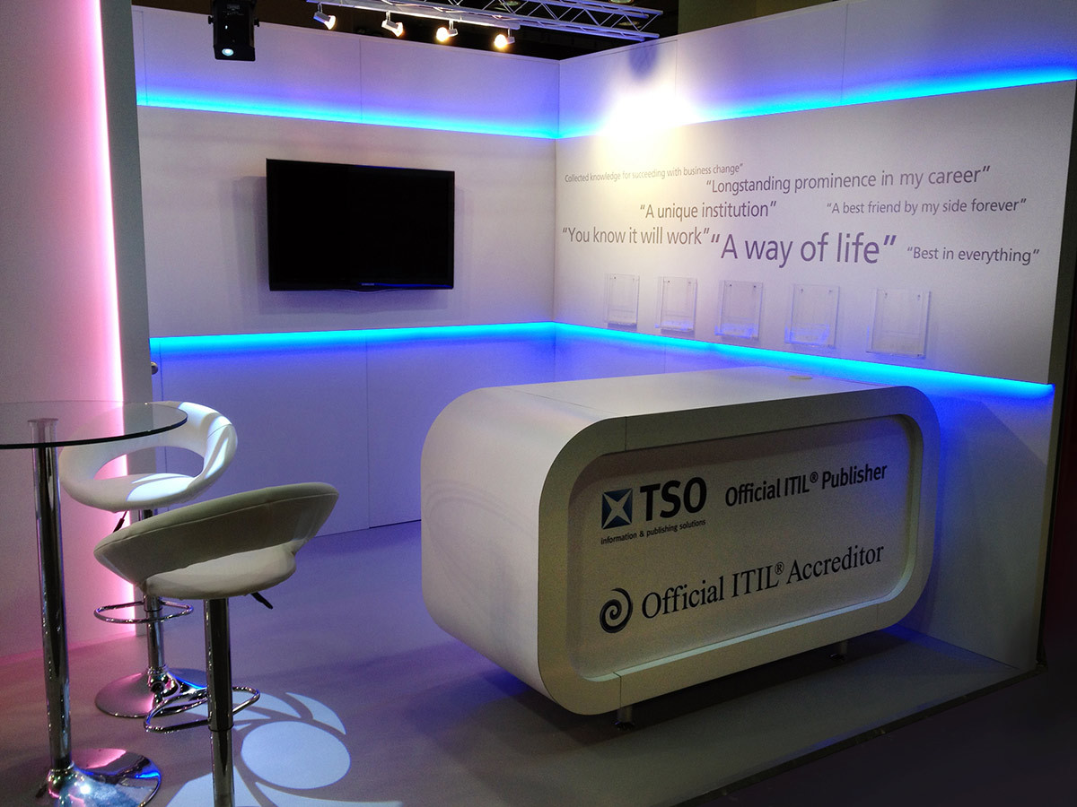 Custom Exhibition Stand Counter TSO