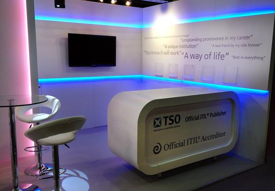 Custom Exhibition Stand Counter TSO
