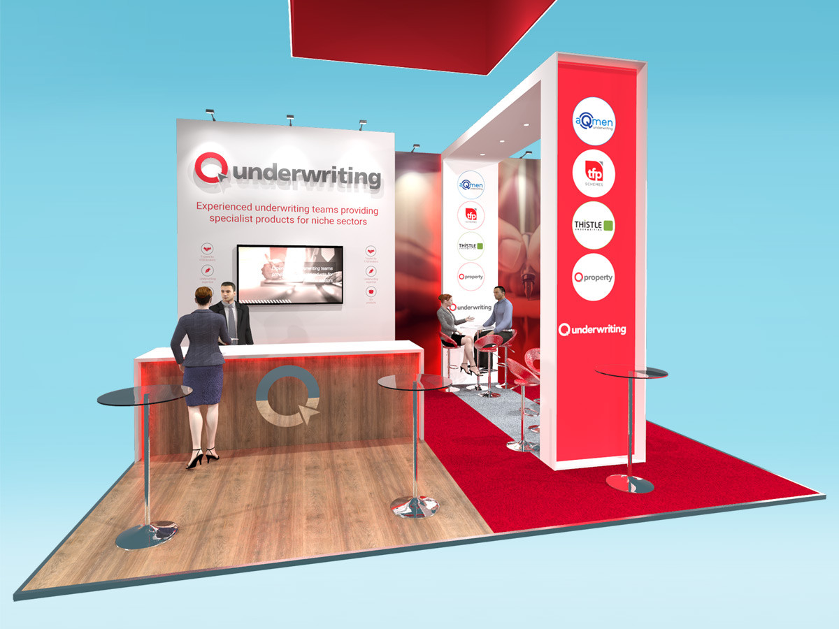 Exhibition Stand Design for Insurance Sector