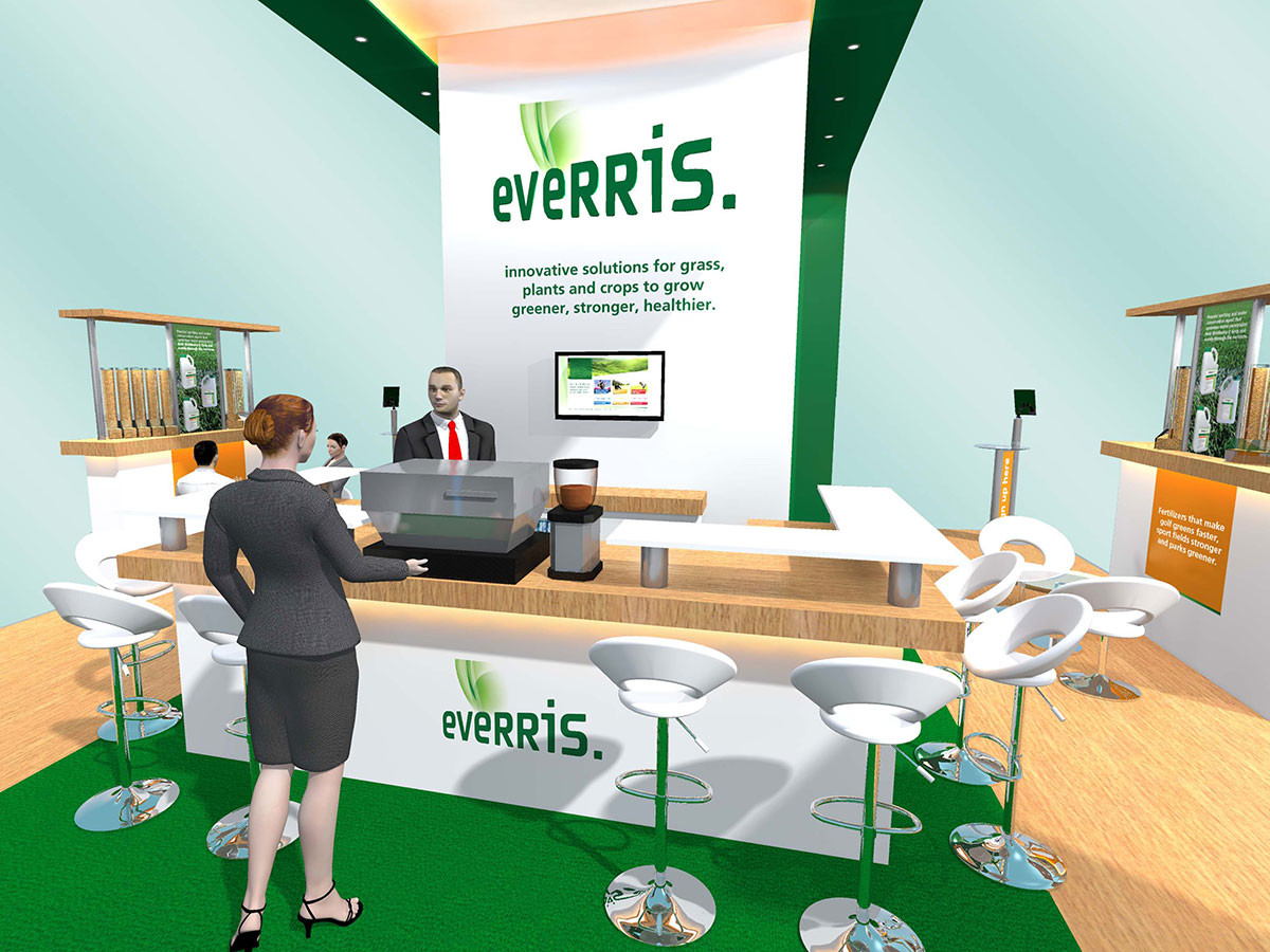 Exhibition Stand Design Concept Everris