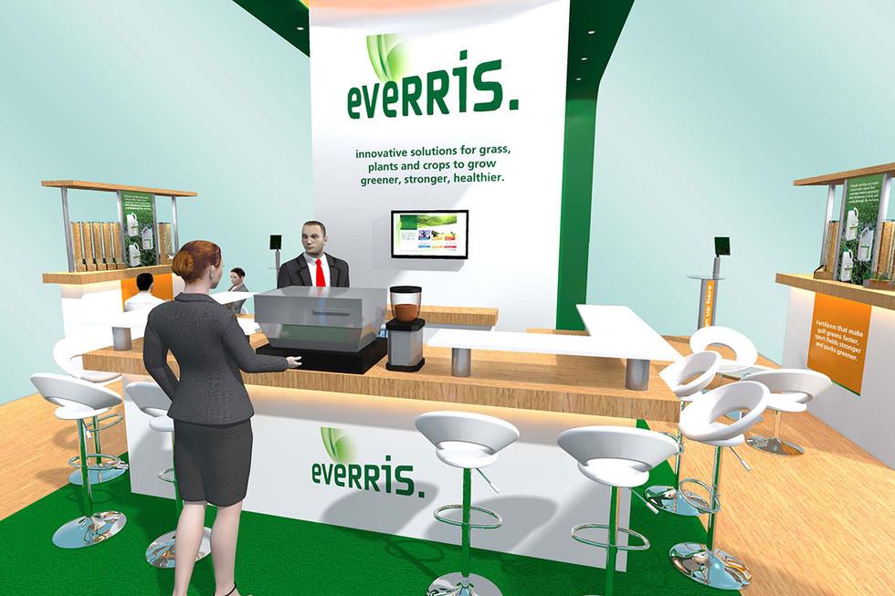 Exhibition Stand Design Concept Everris