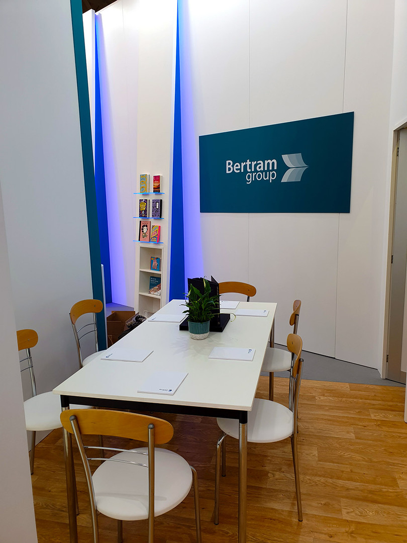 Custom Interior Meeting Area Graphic Treatment Bertram Group