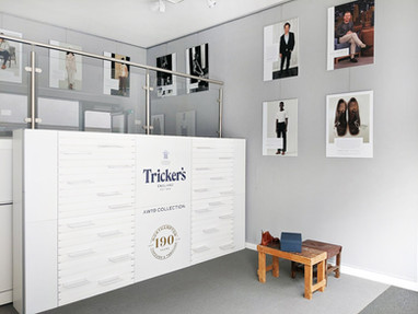 Tricker's Brand Experience and Interior Fit Out