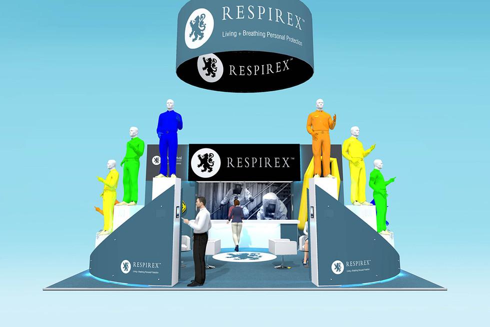 Respirex Exhibition Stand Design Concept