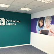 3D Interior Office Wall Graphics - Developing Experts in Norwich