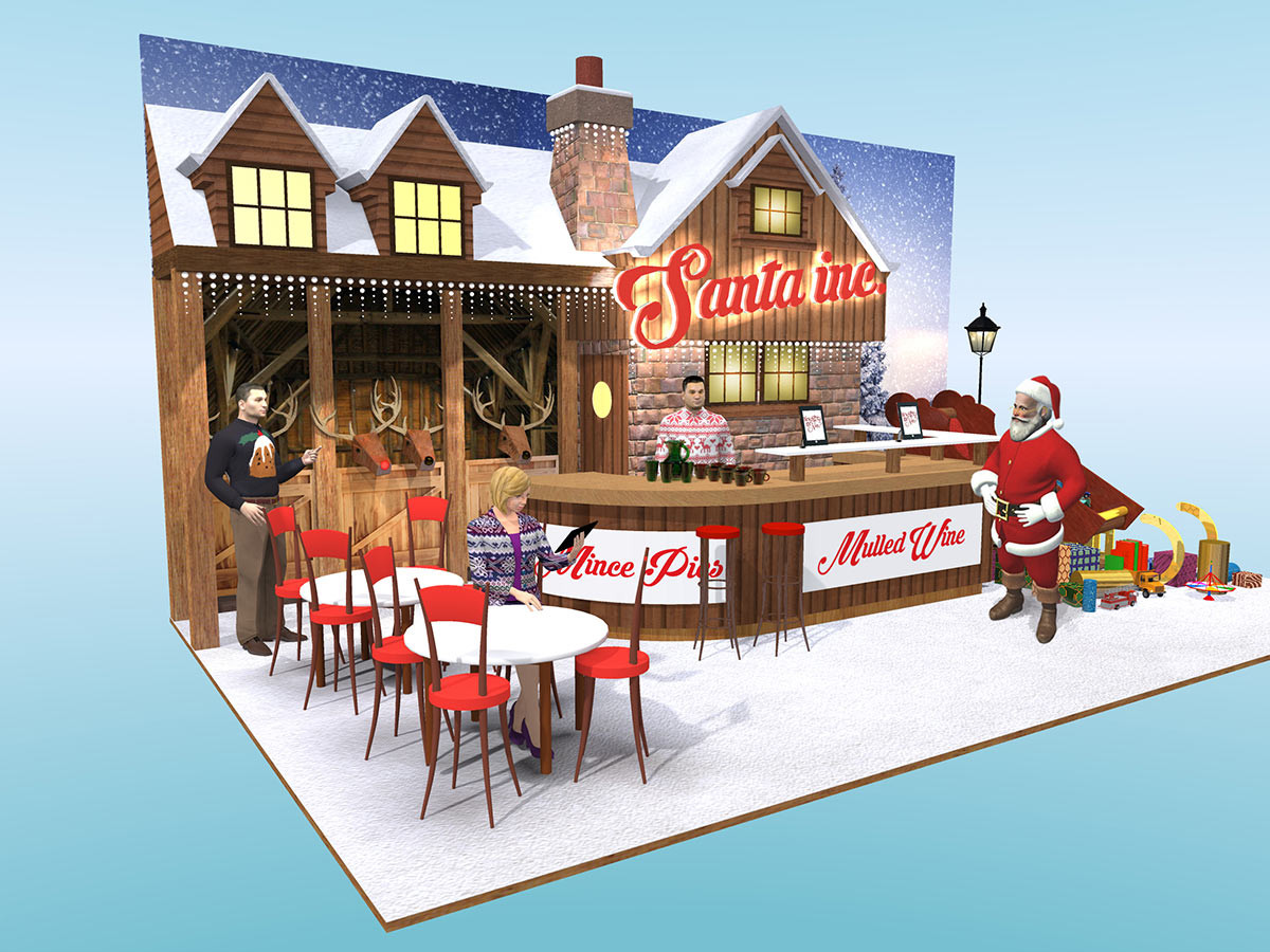Christmas Exhibition Stand Design