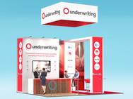Q Underwriting Exhibition Stand Design Concept