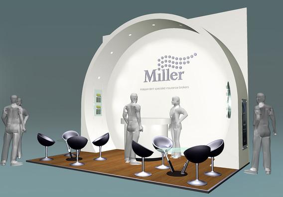 Exhibition Stand Design Concept Miller Insurance