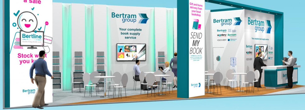 Custom Exhibition Stand Design Idea Bertram Group LBF19