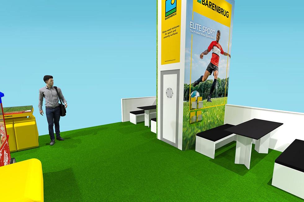 Exhibition Stand Concept Design BArenbrug at Saltex 2019