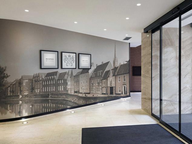 Hotel Foyer Wall Graphics Norwich