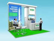 HDI Exhibition Stand Design Concept Airmic 2019