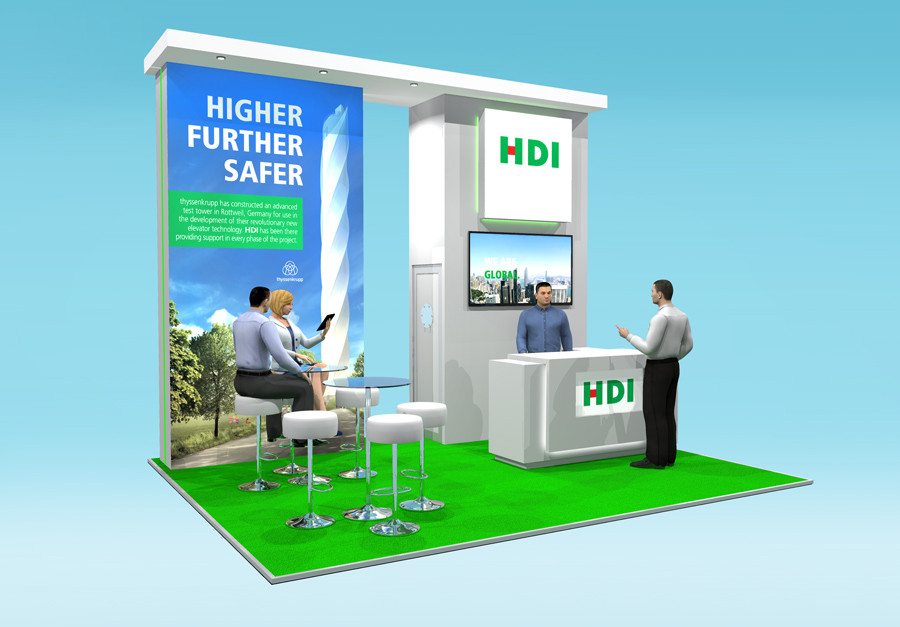 Exhibition Stand Design HDI Airmic 2019