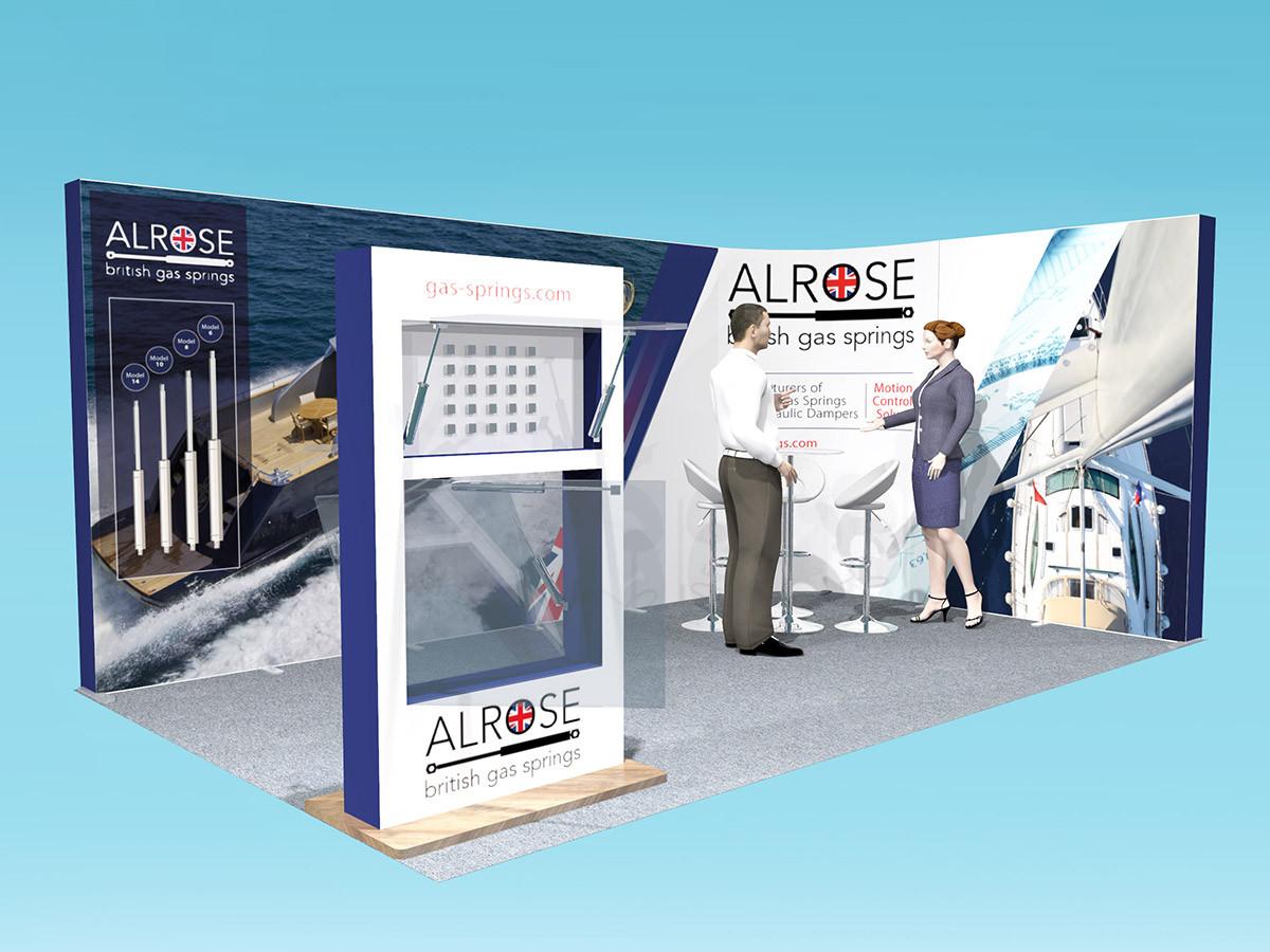 Exhibition Stand Design Alrose