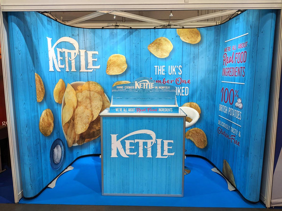 Twist kit shell scheme Portable Display with counter - Kettle