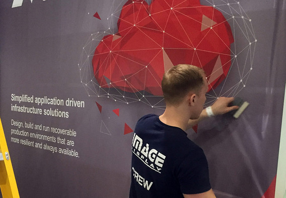 Graphic Application to Sungard Exhibition Stand Component