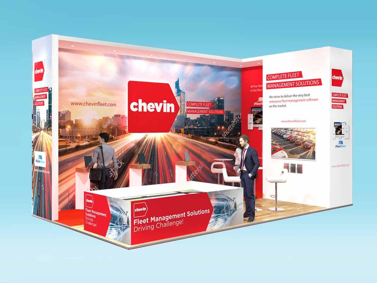 Exhibition Stand Design Concept for Chevin