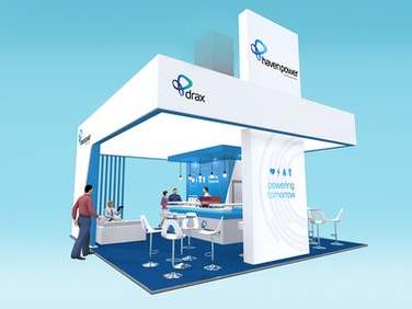 Haven Power & Drax Exhibition Stand Design Concept