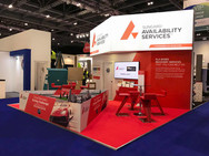 Custom Exhibition Stand - Sungard at Cloud Expo 2018