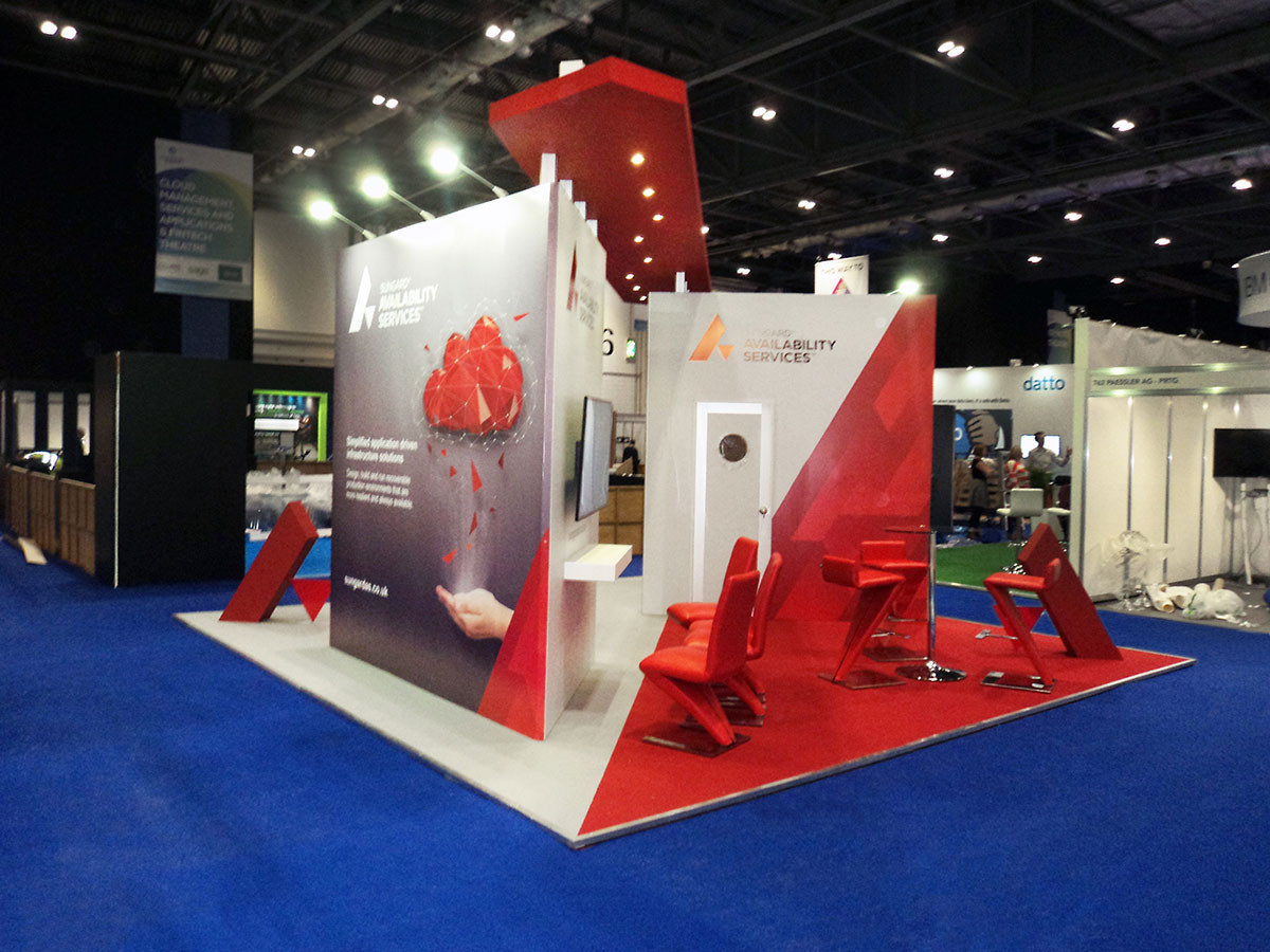 Graphic Design for Sungard Exhibition Stand