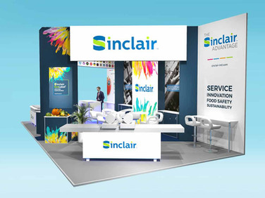 Sinclair International Exhibition Stand Design Concept