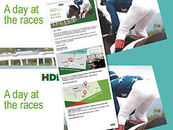 Email Graphic Design for HDI by Image Display & Graphics Norwich