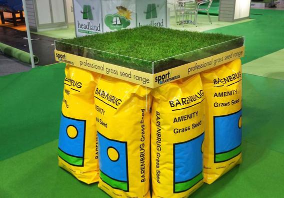 Custom Exhibition Stand Grass Displays Barenbrug Saltex 2018