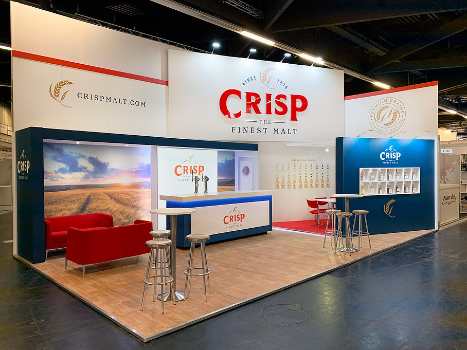 Exhibition Stand Design and Build Service Image Display and Graphics