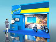 Lexham Insurance Exhibition Stand Design Concept