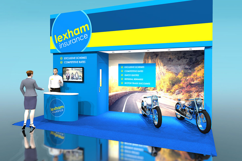 Motorcycle Show Exhibition Stand Design