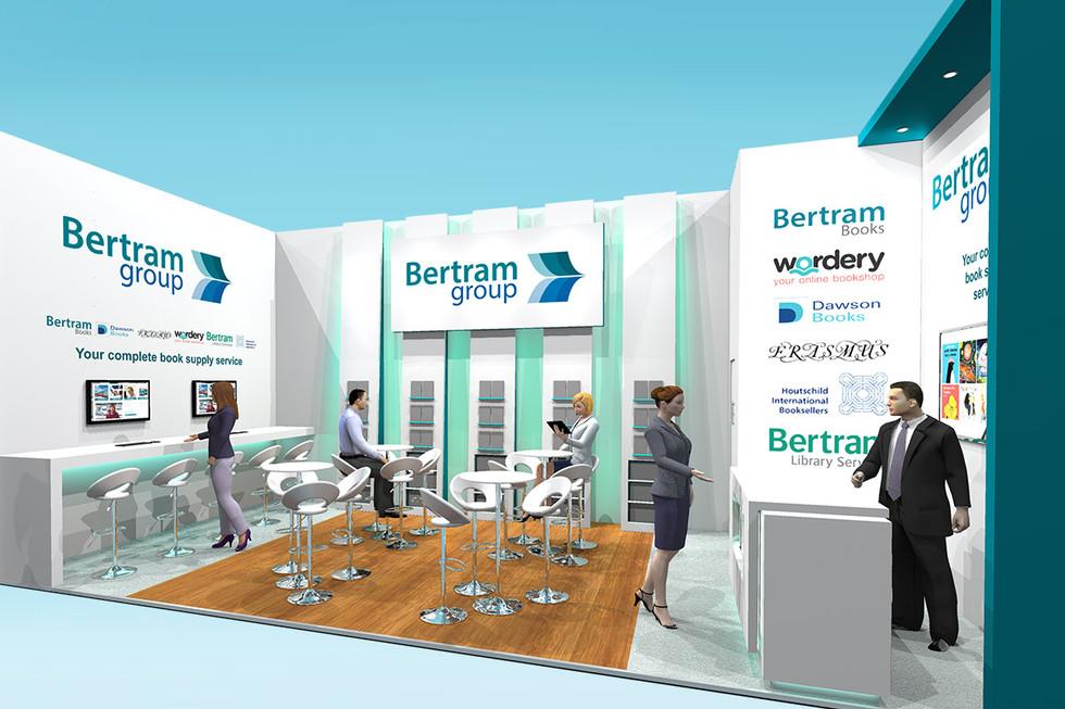 Frankfurt Bookfair Exhibition Stand Design for Bertram Group